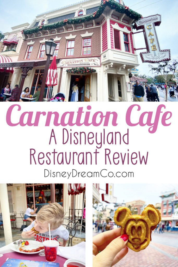 Carnation Cafe Disneyland Restaurant