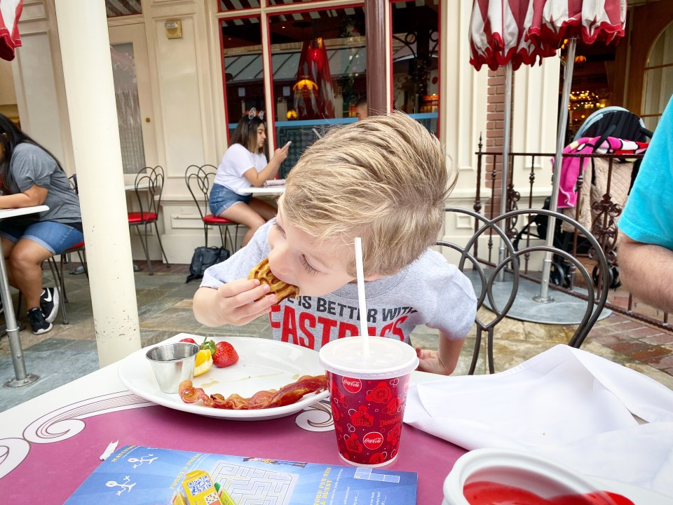 Carnation Cafe Disneyland