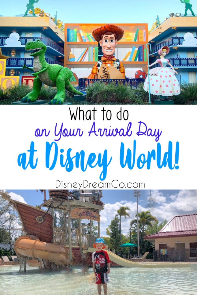 Arrival Day for Disney World