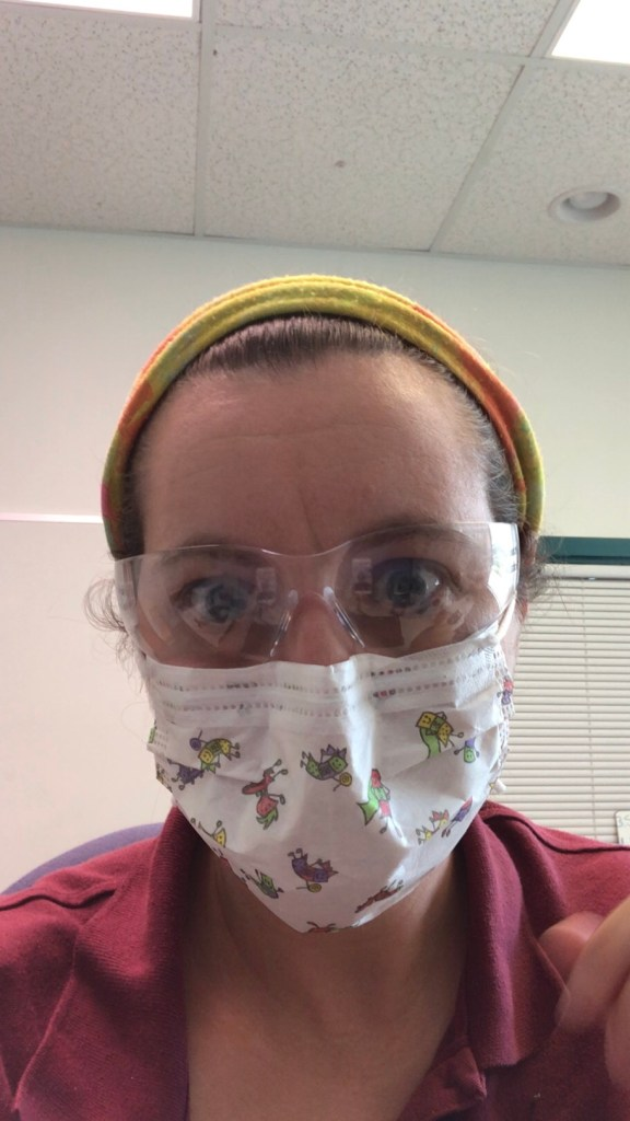 face mask, face covering, Tips for wearing a face-covering in the Florida