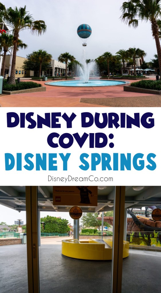 Disney Springs during COVID