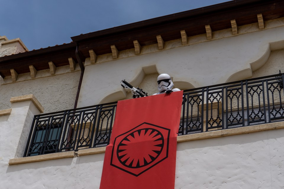 Disney springs storm trooper