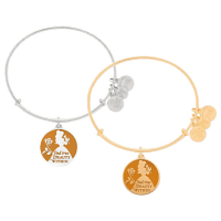 Belle Bangle by Alex and Ani (orange)