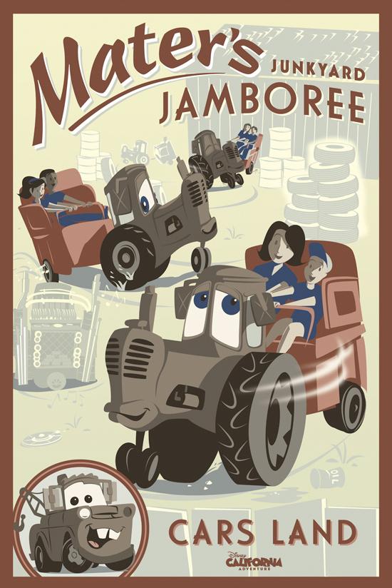 Tow Maters Junkyard Jamboree Attraction Poster