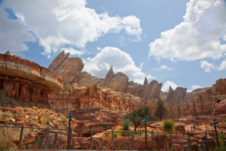 Cadillac Range Cars Land Disney California Adventure