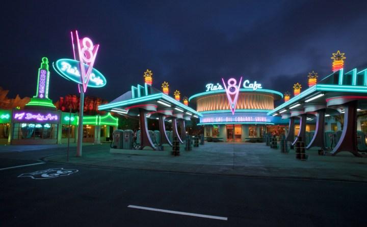 Cars Land At Night 4