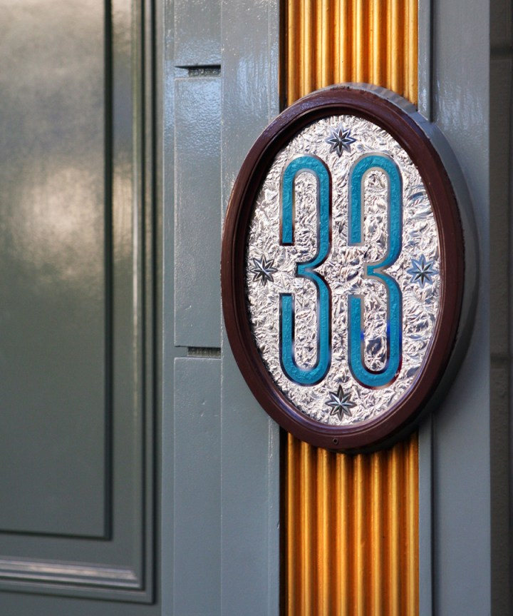 Club 33 Sign Disneyland Park