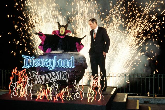 Fantasmic World Premiere Michael Eisner