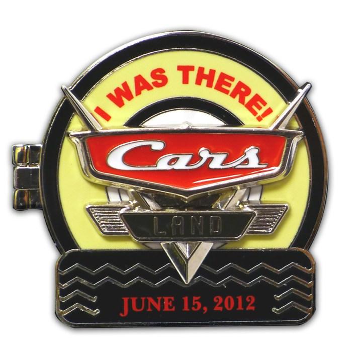 Cars Land Grand Opening Pin