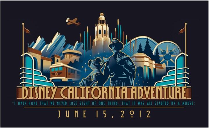 Disney California Adventure Dated Logo