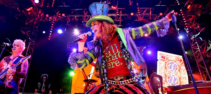 Mad T Party Hollywood Land Lead Singer