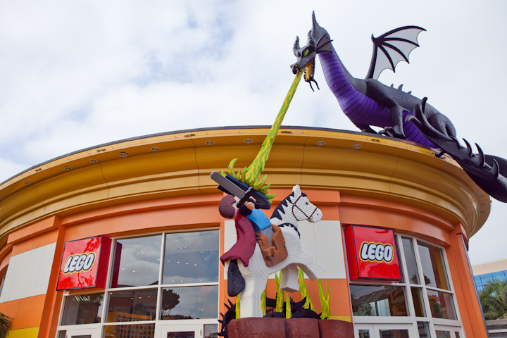 New Lego Store In Downtown Disney California