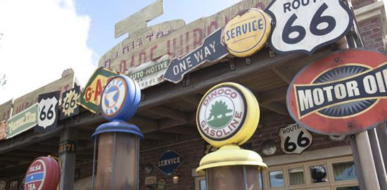 Radiator Springs Curios Cars Land