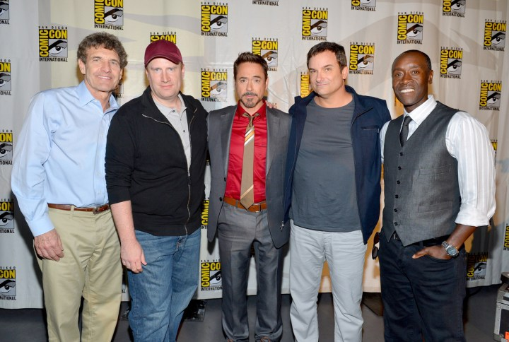 Iron Man 3 Comic Con Cast 2