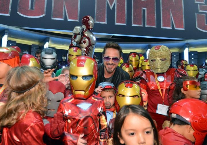 Iron Man 3 Comic Con Robert Downey Jr