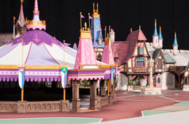 Disneyland Fantasy Faire Model 1