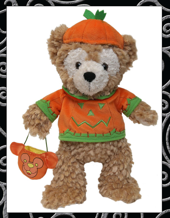 Disneyland Halloween Time Merchandise Pumpkin Duffy The Bear