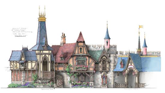Fantasy Faire Concept Art 2