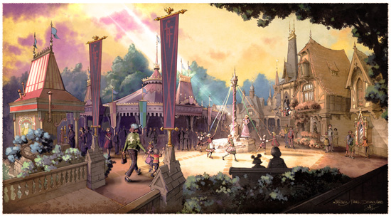 Fantasy Faire Concept Art 3