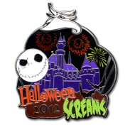 Disneyland Halloween Time Merchandise Jack Skellington Pin
