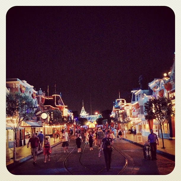 Disneyland Halloween Time Main Street Usa
