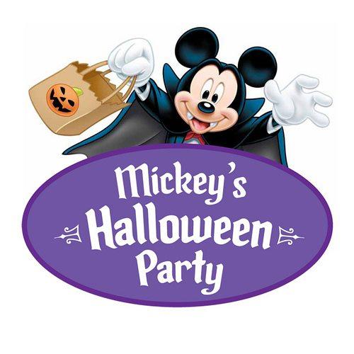 Mickeys Halloween Party Logo