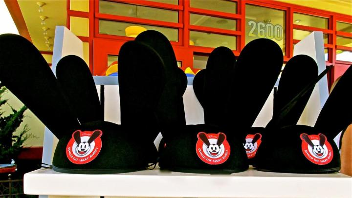 Oswald Ear Hats Disney California Adventure