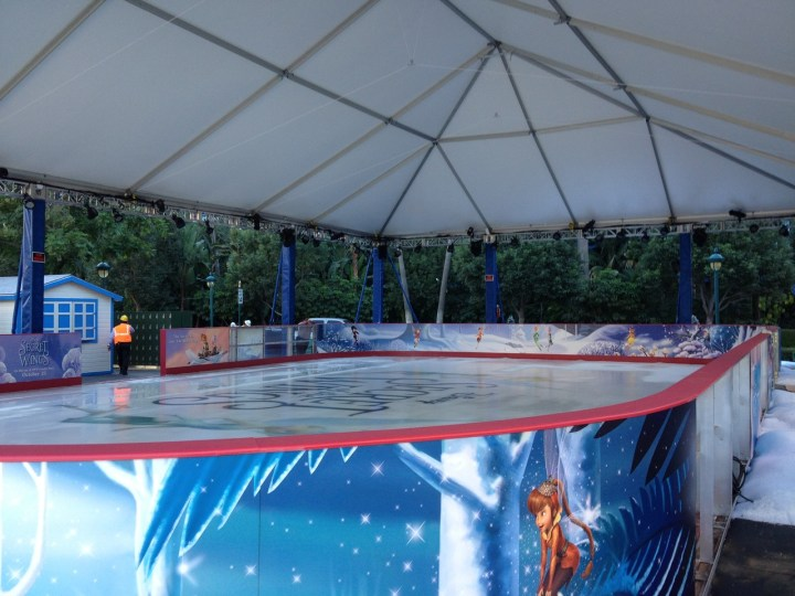 Tinkerbell Secrets Of Wings Ice Rink Downtown Disney