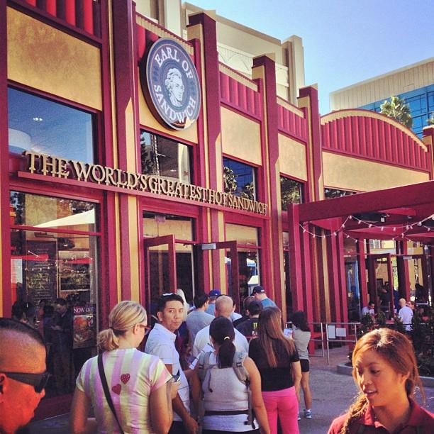Earl Of Sandwich Soft Opening Downtown Disney