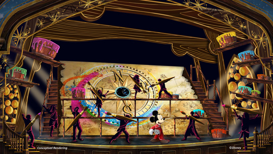 Mickey And The Magical Map Concept Art 2