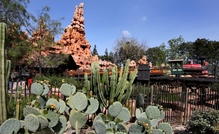 Big Thunder Mountain Exterior