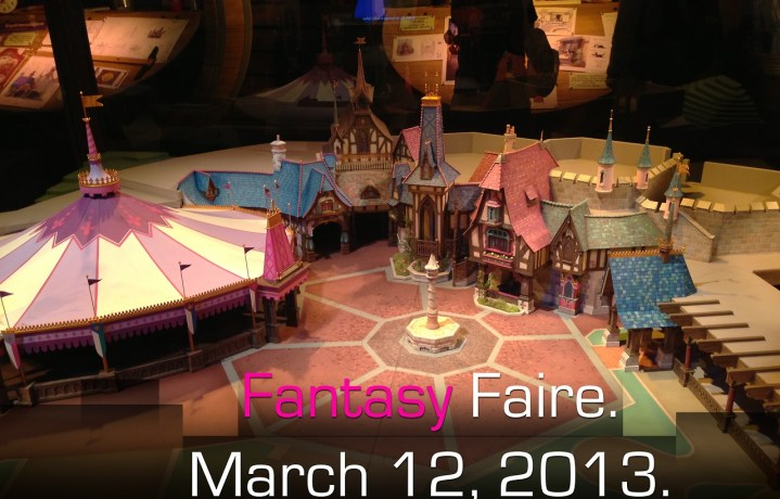 Fantasy Faire Grand Opening Date