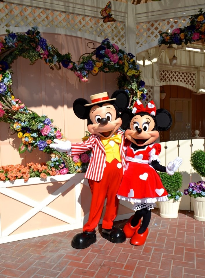 Mickey And Minnie Mouse True Love Week Disneyland Resort