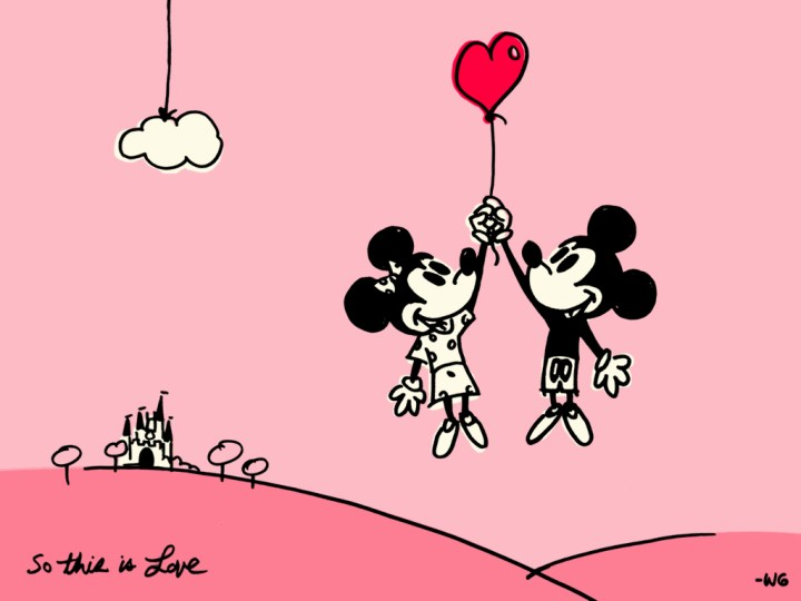 Mickey And Minnie Valentines Day Cartoon