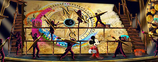 Mickey And The Magical Map Concept Art