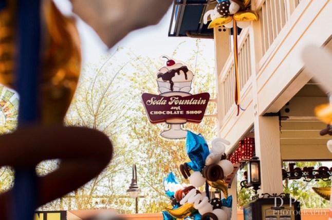Ghirardelli Soda Fountain And Chocolate Shop Grand Opening Disney California Adventure 1