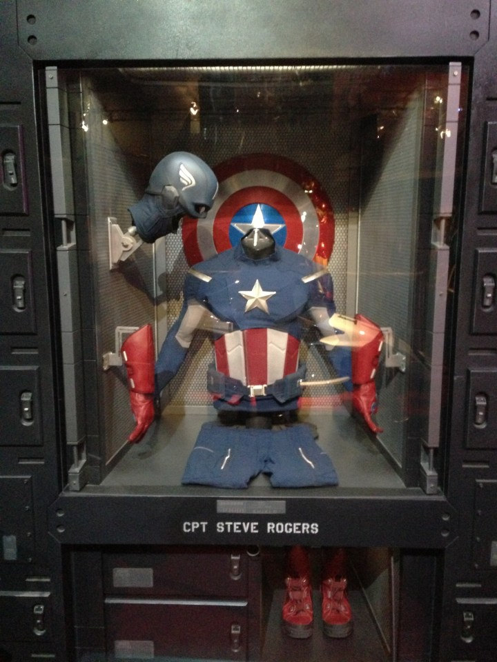 D23 Treasures Of The Walt Disney Archives Reagan Library Overview 2 Captain America Costume