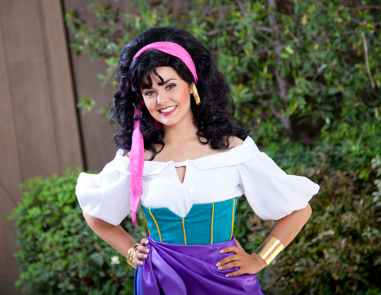 Esmeralda Hunchback Of Notre Dame Long Lost Friends Week Disney Parks