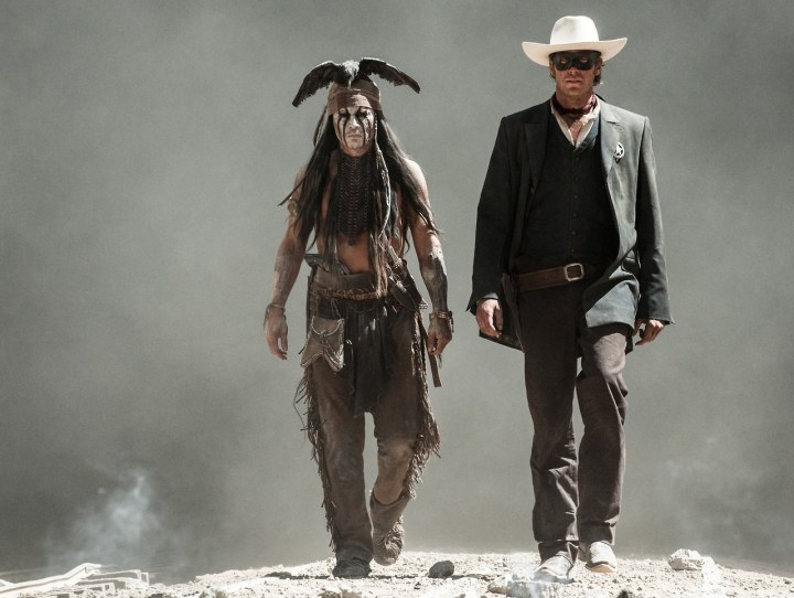 Lone Ranger And Tonto Walking