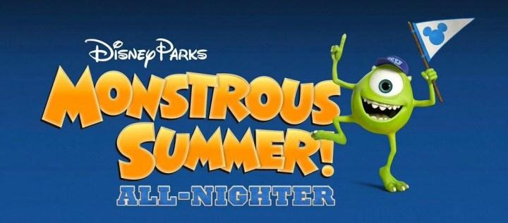 Monstrous Summer All Nighter Logo
