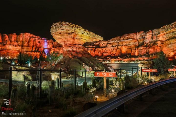 Disney California Adventure Grand Reopening Disneyexaminer Coverage Day 1 Entry Radiator Springs Racers