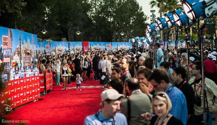 Disney California Adventure Grand Reopening Disneyexaminer Coverage Day 1 Entry Red Carpet