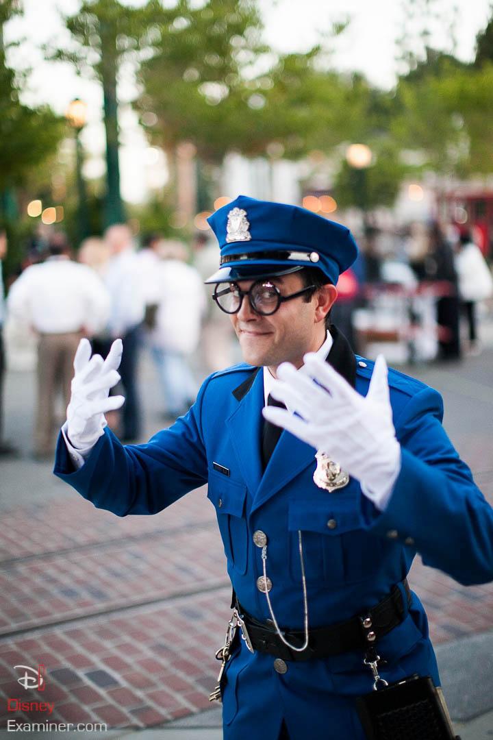 Disney California Adventure Grand Reopening Disneyexaminer Coverage Day 2 Buena Officer Blue