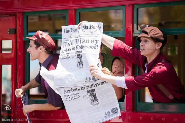Disney California Adventure Grand Reopening Disneyexaminer Coverage Day 2 Buena Red Car News Boys