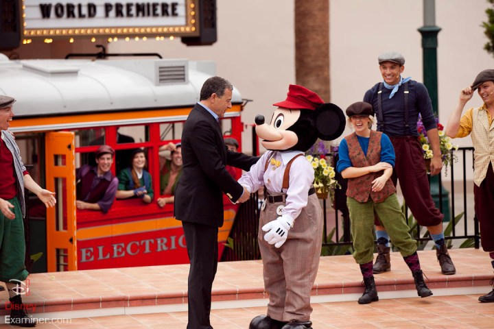 Disney California Adventure Grand Reopening Disneyexaminer Coverage Day 3 Exit Bob Iger Mickey Mouse