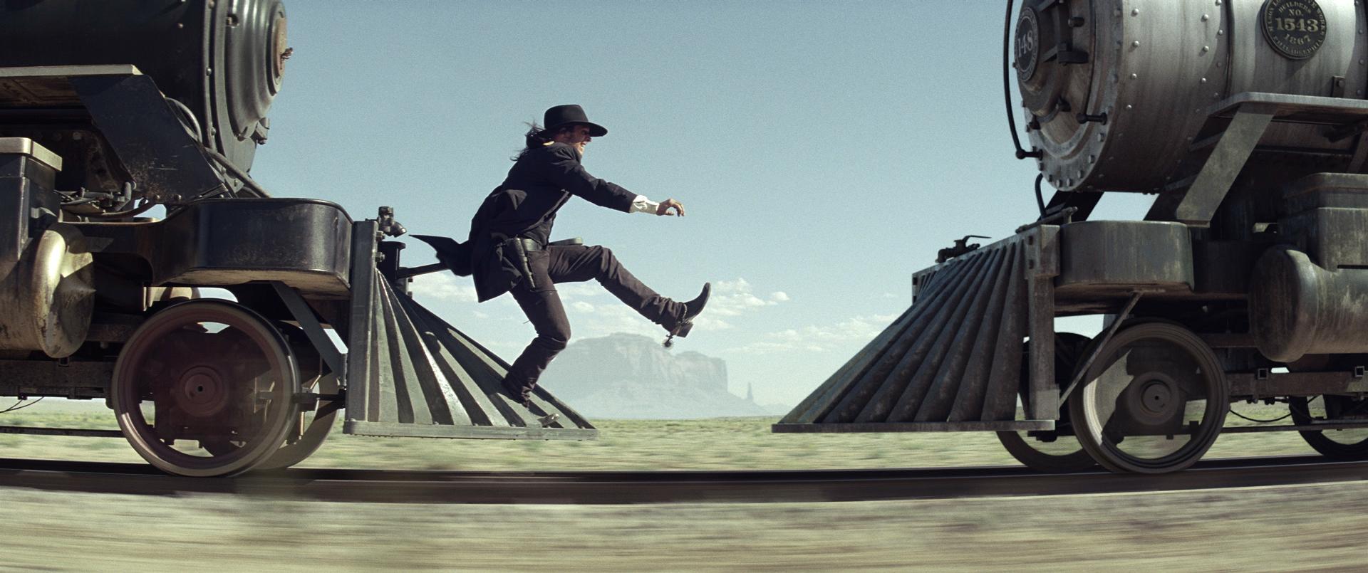 Butch Cavendish Train Chase The Lone Ranger | DisneyExaminer