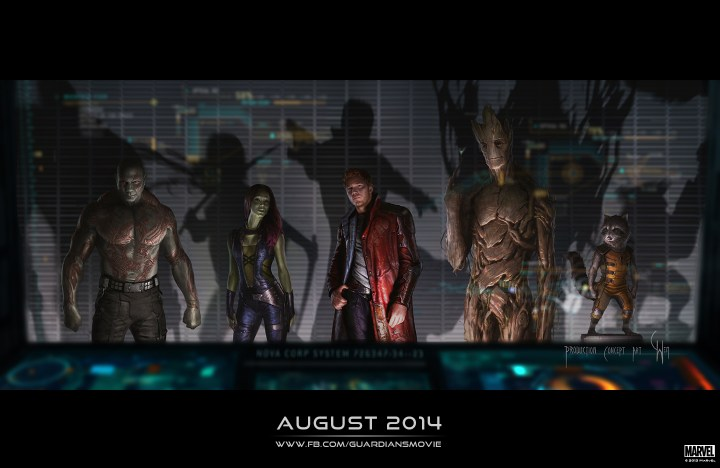Marvel Guardians Of The Galaxy Concept Art