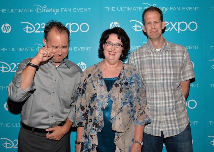 2013 D23 Expo Walt Disney Animation Studios Presentation Pete Doctor Phyllis Smith Pixar Inside Out