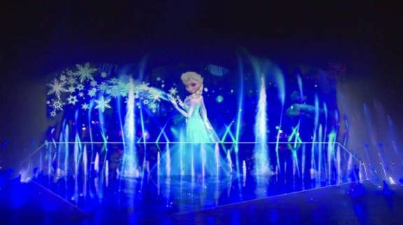 Disney Animation Frozen World Of Color Winter Dreams Concept Art