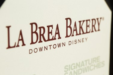 New Menu Fall 2013 La Brea Bakery Cafe Downtown Disney Disneyland Resort